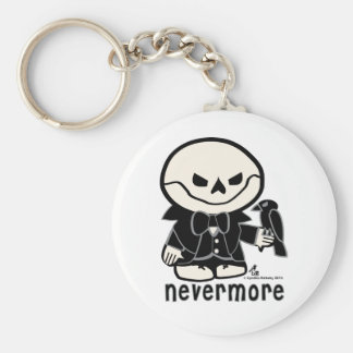 Dead Ed-Nevermore Keychain