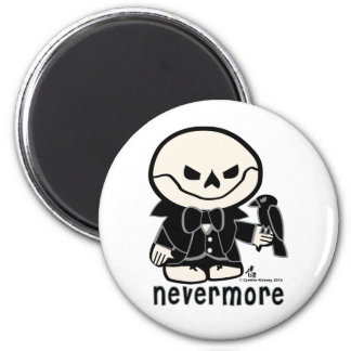 Dead Ed - Nevermore 2 Inch Round Magnet