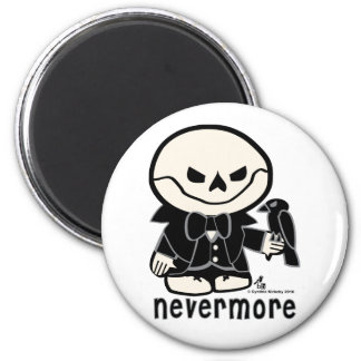 Dead Ed-Nevermore Magnet