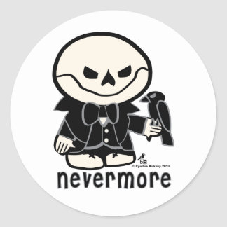 Dead Ed-Nevermore Stickers