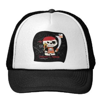 Dead Ed-Ninja v Pirate Cap Trucker Hat