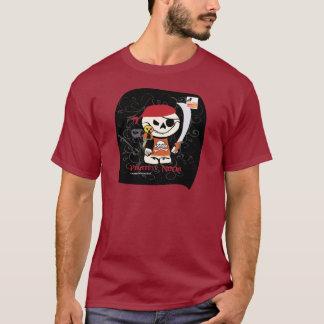 Dead Ed-Ninja v Pirate Dark Tees