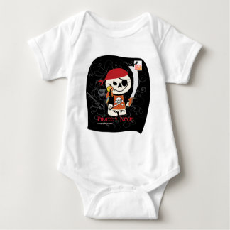 Dead Ed-Ninja v Pirate For Infants Tee Shirts