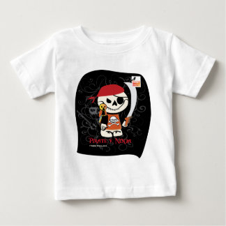 Dead Ed-Ninja v Pirate For Toddlers Baby T-Shirt