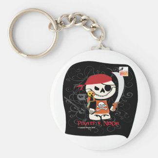 Dead Ed-Ninja v Pirate Keychain