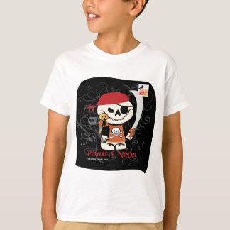 Dead Ed-Ninja v Pirate Kids T-Shirts