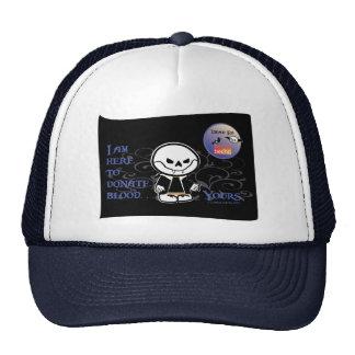 Dead Ed Vampire Donation Caps Trucker Hat