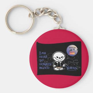 Dead Ed Vampire Donation Keychain