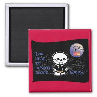 Dead Ed Vampire Donation Magnet