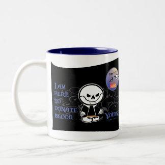 Dead Ed Vampire Donation Mug