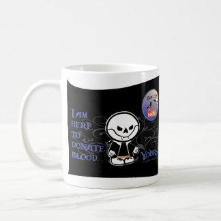 Dead Ed Vampire Donation Mug (single side)