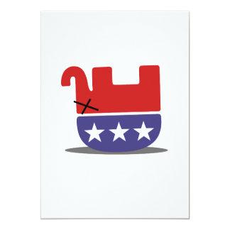 Dead Elephant GOP Card