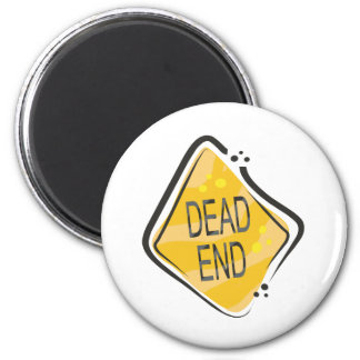 Dead End 2 Inch Round Magnet