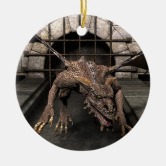 Dead End Dragon Is Looking For Some Dinner - You Ceramic Ornament