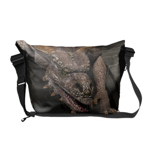 Dead End Dragon Is Looking For Some Dinner - You Courier Bag