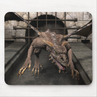 Dead End Dragon Is Looking For Some Dinner - You Mouse Pad