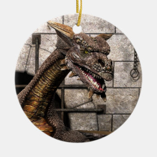 Dead End Dragon Is Looking For Some Dinner - You Christmas Tree Ornaments