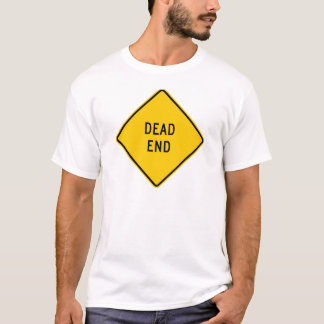 Dead End Highway Sign T-Shirt