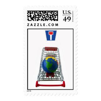 Dead End Postage Stamp