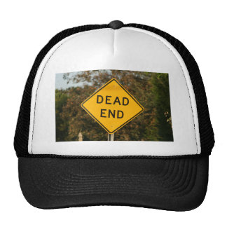 Dead End Street Sign Trucker Hat