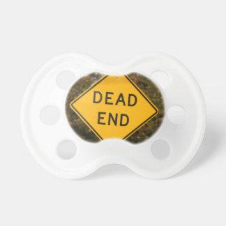 Dead End Street Sign Pacifier