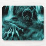 Dead evil blue mouse pad