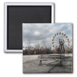 Dead Ferris Wheel Fridge Magnet