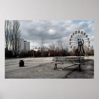 Dead Ferris Wheel Print
