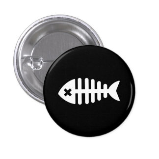 Dead Fish Pictogram Button