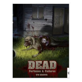 Dead Fortunes & Failures Postcard