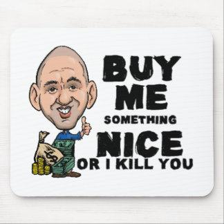Dead Funny Dad Mouse Pad