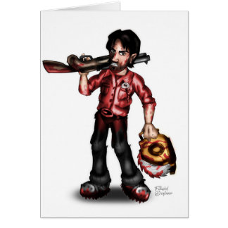 Dead Fury Merchandise Card