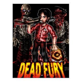 Dead Fury Merchandise Postcard