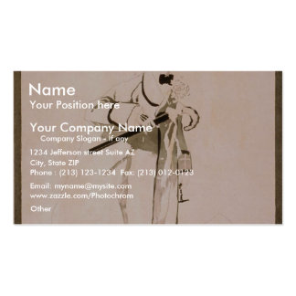 Dead Game Sports Vintage Theater Business Card