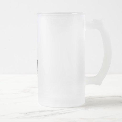 DEAD GENTLEMAN PATCHY SKULL SKELETON COFFEE MUG