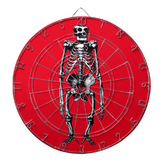 dead gorilla skeleton dartboard