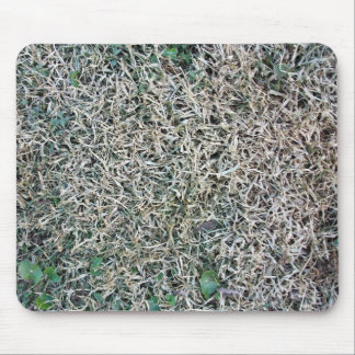 Dead Grass Texture Mouse Pad