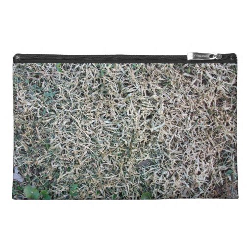Dead Grass Texture Travel Accessory Bags