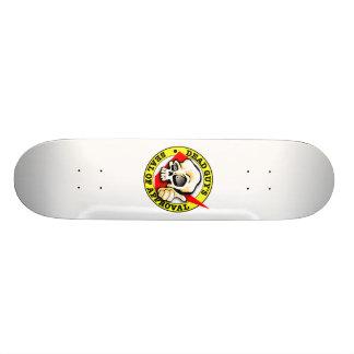Dead Guy's Seal of Approval Skateboard Deck