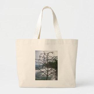 Dead Hawaiian Tree Large Tote Bag