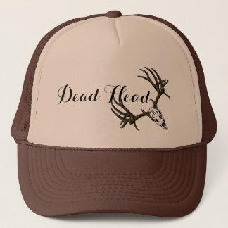 Dead Head buck skull 2 Trucker Hat