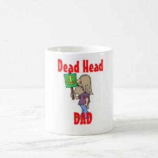"""DEAD HEAD DAD""  MUG!! COFFEE MUG"