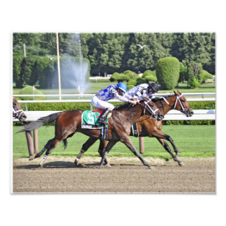 Dead Heat in the 95th. Schuylerville Stakes Photo Print