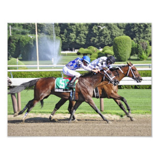 Dead Heat in the 95th. Shuylerville Stakes Photograph