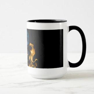 Dead Heat Skull Coffee Mug