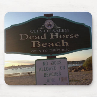 Dead Horse Beach Sign Salem MA Photo Mousepad