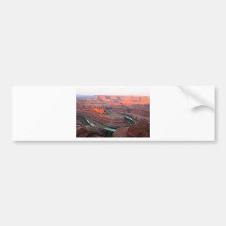 Dead Horse Point State Park, Utah, USA 3, sunrise Bumper Sticker