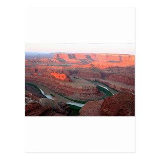 Dead Horse Point State Park, Utah, USA 3, sunrise Postcard
