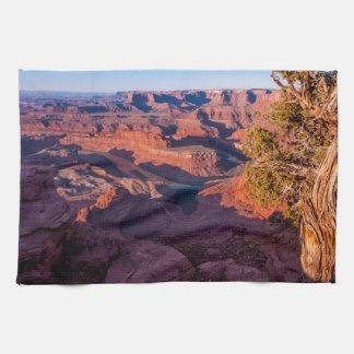 Dead Horse Point Sunrise - Moab, Utah Hand Towel