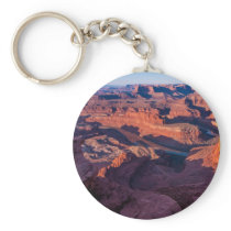 Dead Horse Point Sunrise - Moab, Utah Keychain